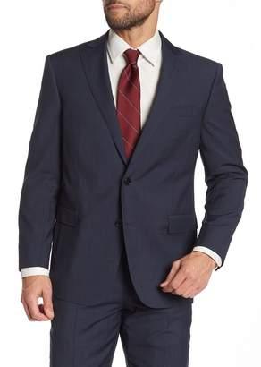 Brooks Brothers Navy Blue Glenplaid Two Button Notch Lapel Wool Regent Fit Suit Separates Jacket