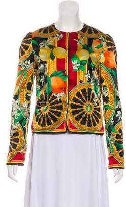 b1175a25f7a110 Dolce & Gabbana Black Snap Front Closure Women's Jackets - ShopStyle