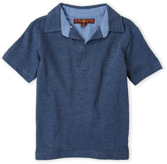 7 For All Mankind Boys 4-7) Johnny Collar Polo