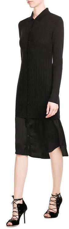 DKNYDKNY Layered Dress with Merino Wool