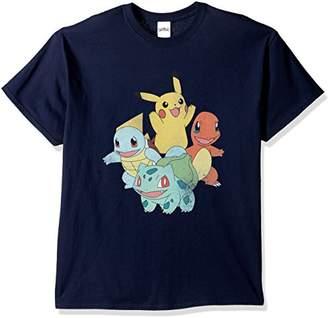 Pokemon Men's Classic Groupshot T-Shirt