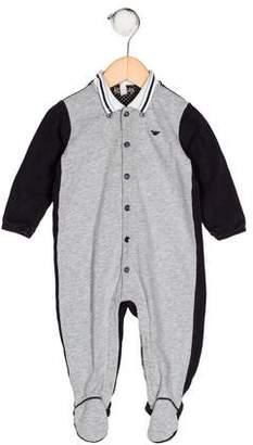 Giorgio Armani Baby Boys' Knit All-In-One