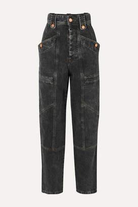 Etoile Isabel Marant Neko High-rise Jeans - Gray