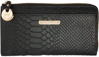 GiGi New York Python Large Zip Wallet