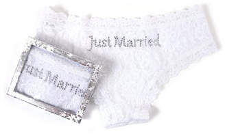 Hanky Panky Just Married Lace Cheeky Hipster Briefs