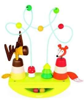 Janod Learning Toys Elk& Fox Looping Stacker& Rocker