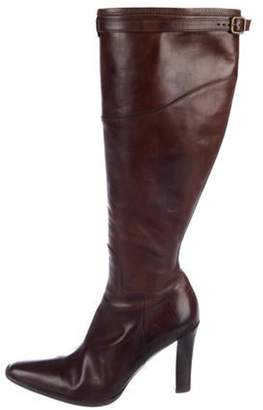 Ralph Lauren Leather Knee-High Boots Leather Knee-High Boots