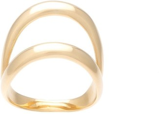 Ana Khouri 18kt gold double ring