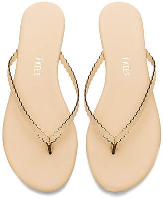 TKEES Studio Scalloped Sandal