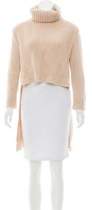 Celine High-Low Turtleneck Sweater
