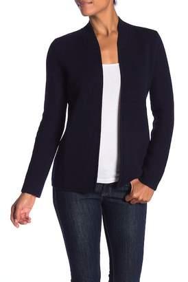 Sofia Cashmere Cashmere Double Face Blazer Sweater