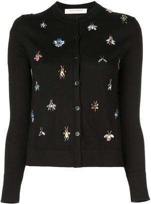 Carolina Herrera slim-fit knitted cardigan