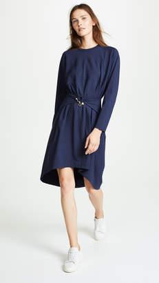 Carven Twist Waist Dress