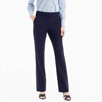 J.Crew Petite Edie full-length lined trouser in Italian two-way stretch wool
