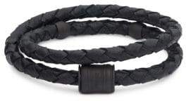 Miansai Splice Braided-Leather Bracelet