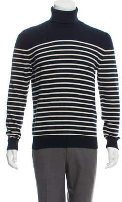 Saint Laurent Cashmere Turtleneck Sweater navy Cashmere Turtleneck Sweater