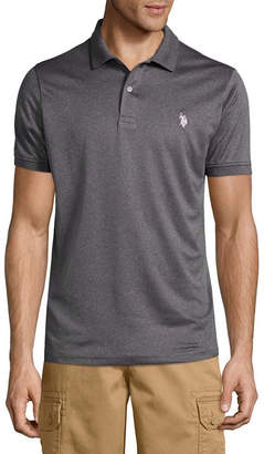 U.S. Polo Assn. USPA Short Sleeve Solid Performance Polo Shirt