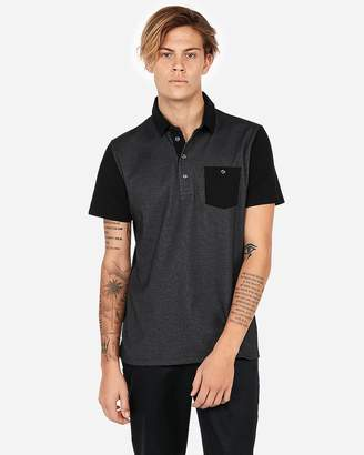 Express Double Faced Performance Polo Shirt