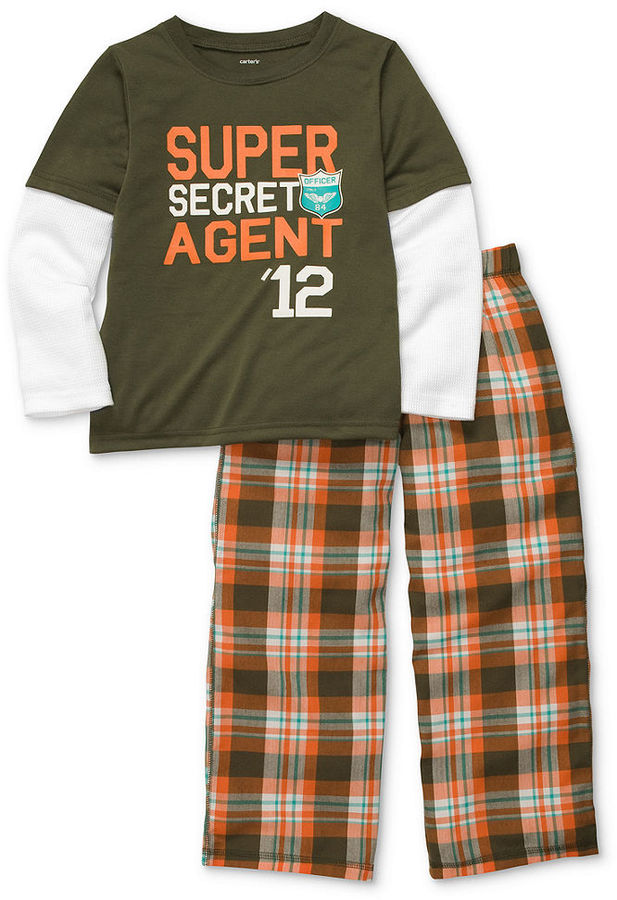 Carter's Kids Pajamas, Boys or Little Boys 2-Piece PJs
