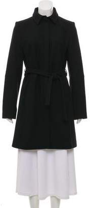 HUGO BOSS Hugo by Virgin Wool-Blend Knee-Length Coat