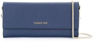 Cerruti fold over cross body bag
