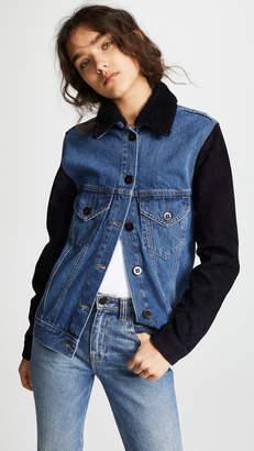 Victoria Beckham Victoria Oversized Denim Jacket