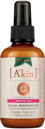 Akin A'kin Rosehip Oil Facial Moisturiser 150ml