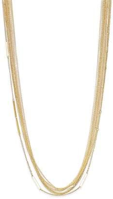 Thalia Sodi Tone Multi-Row Long Necklace Layered