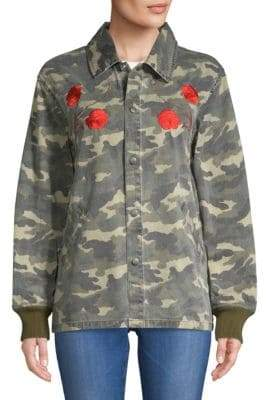 Opening Ceremony Tigers Coach Embroidered Cotton Jacket