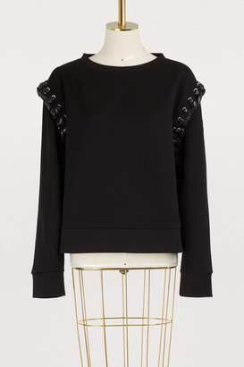 Noir Kei Ninomiya Moncler Genius 6 Moncler chunky knit sweater