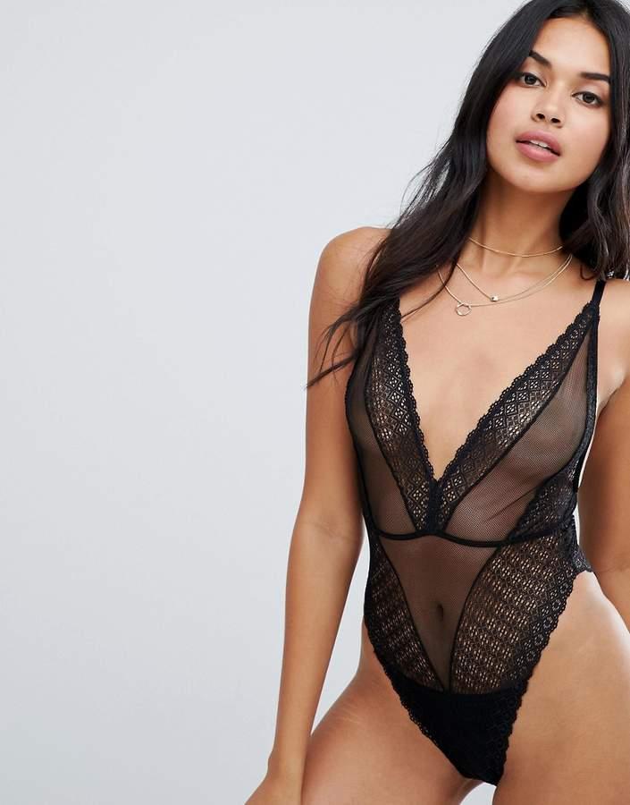 ASOS DESIGN Merci lace bodysuit