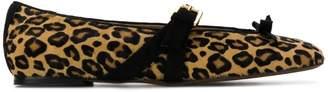 L'Autre Chose leopard print sabrinas
