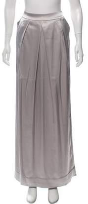 Couture St. John Metallic Maxi Skirt w/ Tags