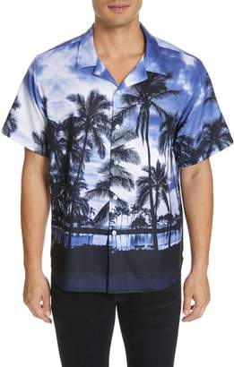 Noon Goons Royal Hawaiian Print Woven Shirt