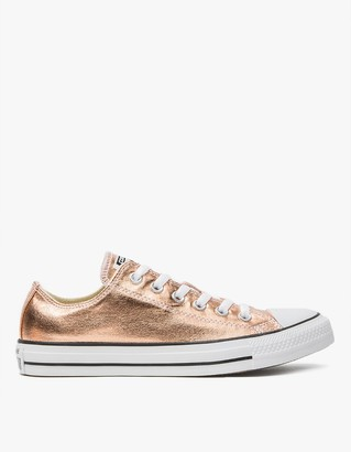 Low Top All Star Metallic $65 thestylecure.com