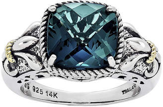 Couture FINE JEWELRY Shey Genuine London Blue Topaz Sterling Silver Ring