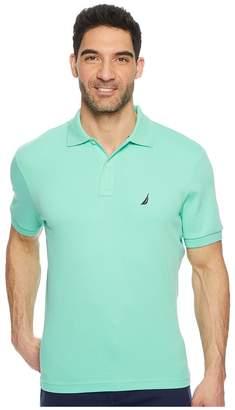 Nautica Short Sleeve Solid Interlock Polo Men's Short Sleeve Pullover