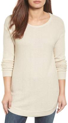 Caslon Texture Knit Tunic (Regular & Petite)