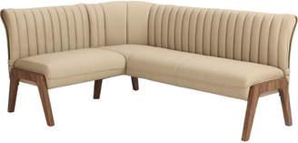 Wade Logan Kaysen Upholstered Corner Bench