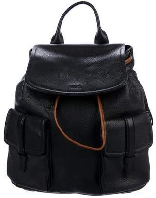 Tumi Grained Leather Backpack