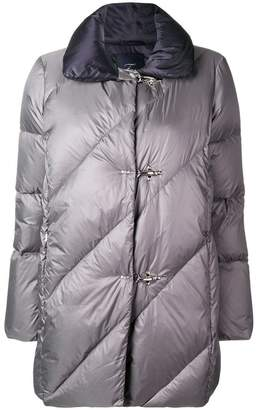 Fay lobster fastening padded coat