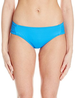 Lucky Brand Women's Moccasin Hipster Bikini Bottom $58 thestylecure.com