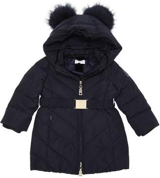 ec26beaef14d Girls Navy Quilted Jacket - ShopStyle UK