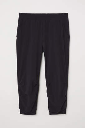 H&M 3/4-length Sports Pants - Black
