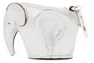 Loewe Elephant Coin Purse - Womens - Silver