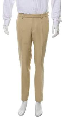 Gucci Metallic Accent Skinny Tuxedo Pants