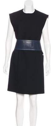 Celine Wool Knee-Length Dress