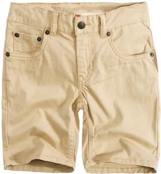 Levi's Levis Boys 4-7x 511 Slim Fit Soft Brushed Shorts