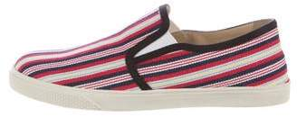 Stella McCartney 2017 Striped Slip-On Sneakers w/ Tags