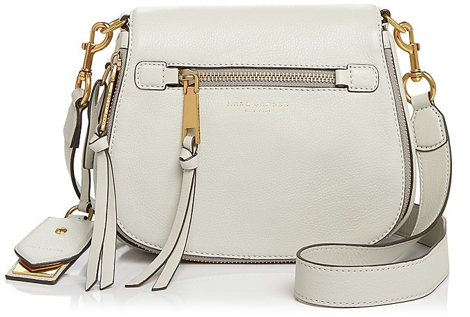 Marc JacobsMARC JACOBS Recruit Small Nomad Leather Saddle Bag